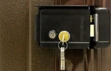 Электрозамок на входной двери