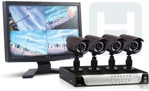 Установка видеонаблюдения в частном доме под ключ