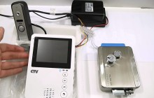 Схема подключения видеодомофона — основные советы