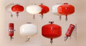 Модуль порошкового пожаротушения