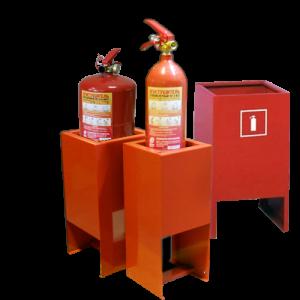 Подставки для огнетушителей