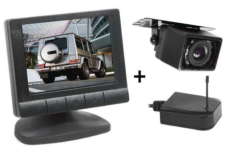 Беспроводная камера заднего вида с монитором