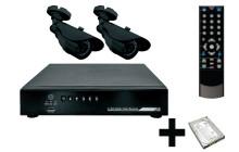 Камеры видеонаблюдения с записью на жесткий диск — обзор популярных моделей