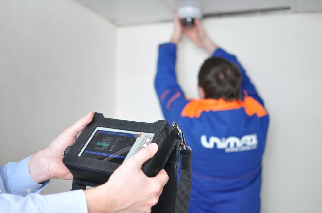 Системы безопасности и видеонаблюдения в картинках