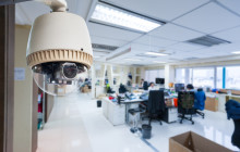 Видеонаблюдения в офисе — советы при установке камер
