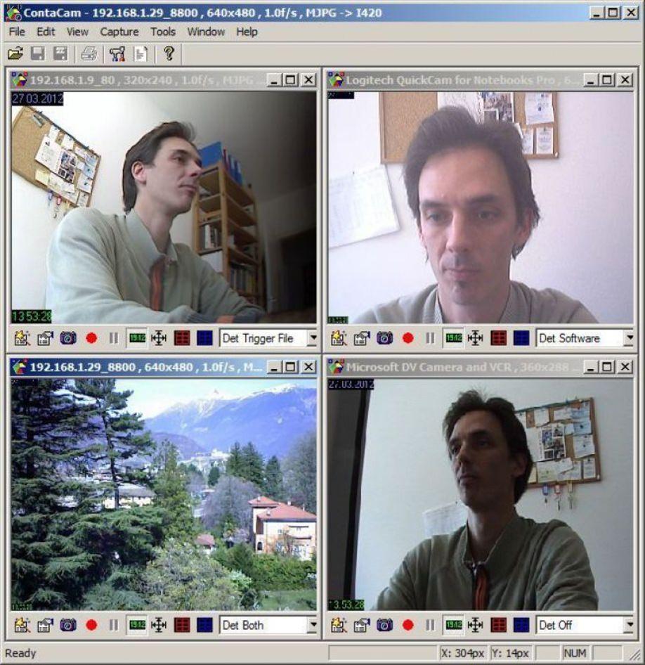 Видеонаблюдение с веб камеры программа скачать бесплатно