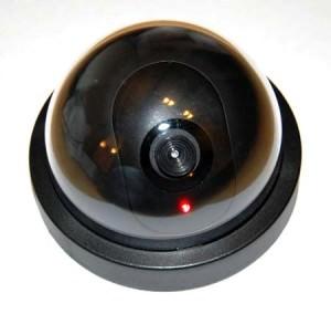 Купольный муляж видеокамеры наблюдения