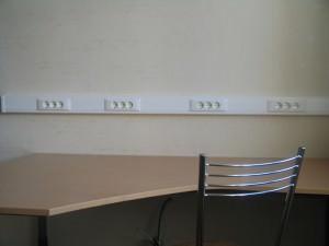Стеновой короб для проводов