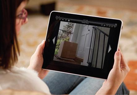 Видеонаблюдение через планшет