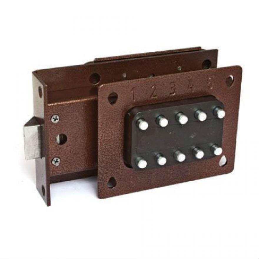 Как установить кодовый замок на калитку