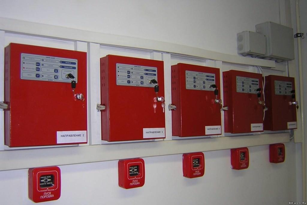 Безадресная система пожарной сигнализации