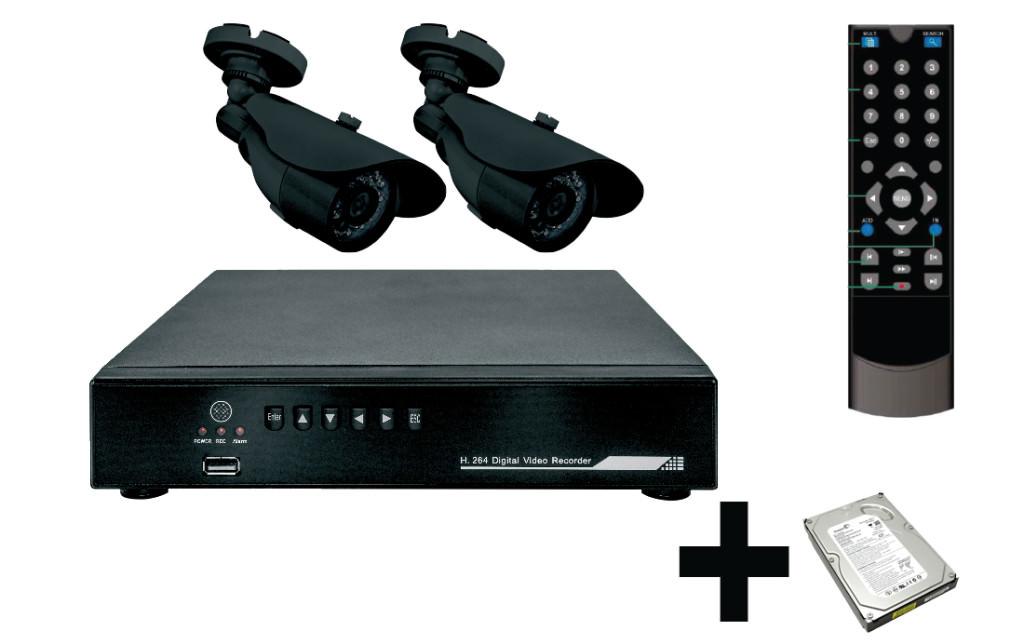 Камеры видеонаблюдения с записью на жесткий диск