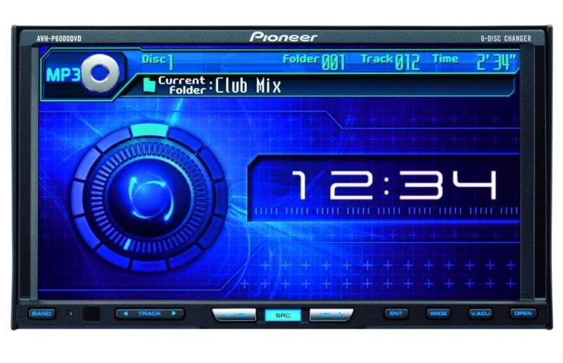 Магнитола Пионер AVH-P6000DVD